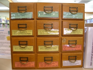 seed drawers by family
