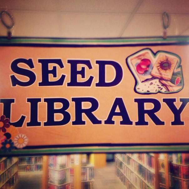 new seed library banner