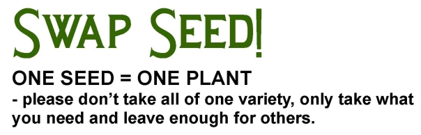 one seed = one plant